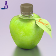 New products - Appel - sleeve - etiket blaadje